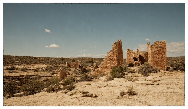 Hovenweep Castle at Hovenweep NM.