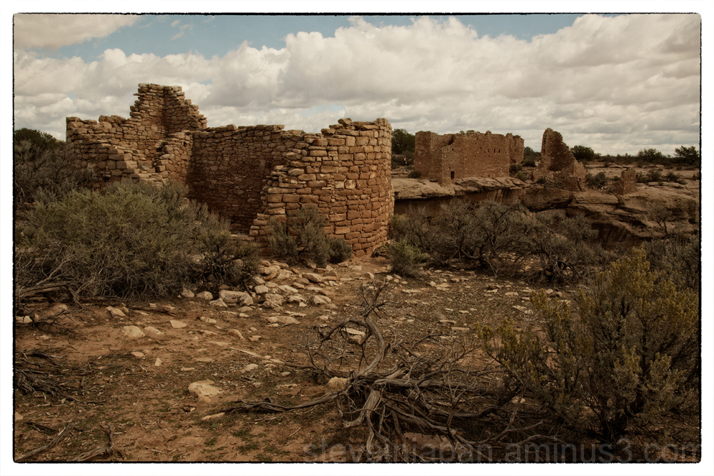 Hovenweep House at Hovenweep NM.