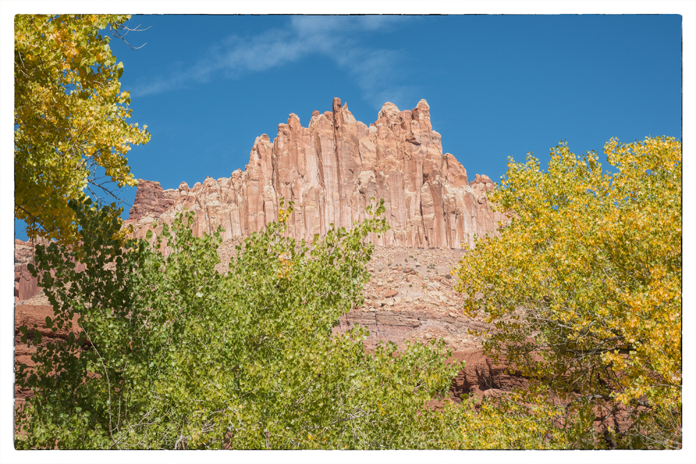 The Castle in Capitol Reef NP.