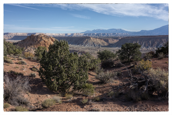 The Burr Trail in Capitol Reef NP.