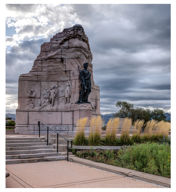 The Mormon Battalion Memorial in Utah.