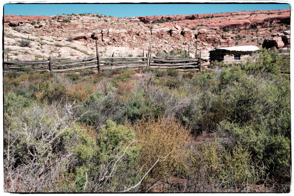 The Wolfe ranch in Arches NP.