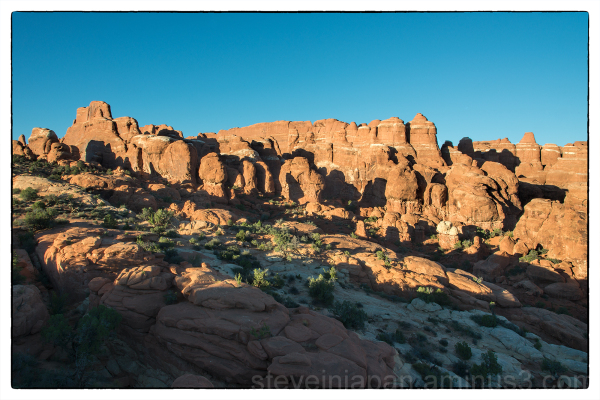 Fiery Furnace in Arches NP.