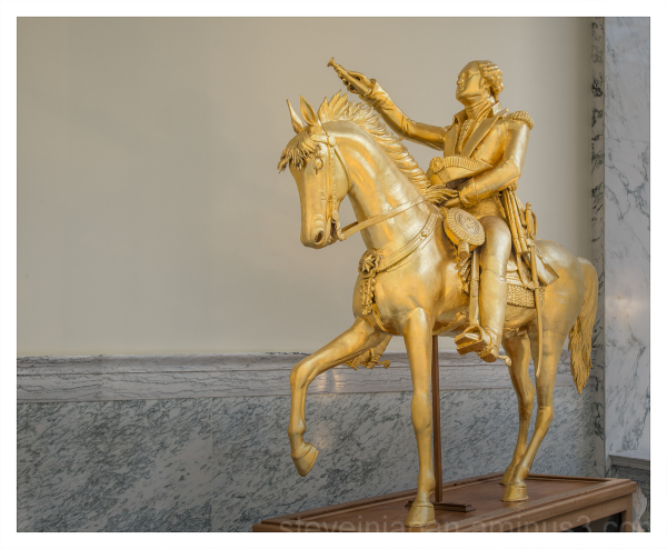 George Washington Equestrian Statue   1869