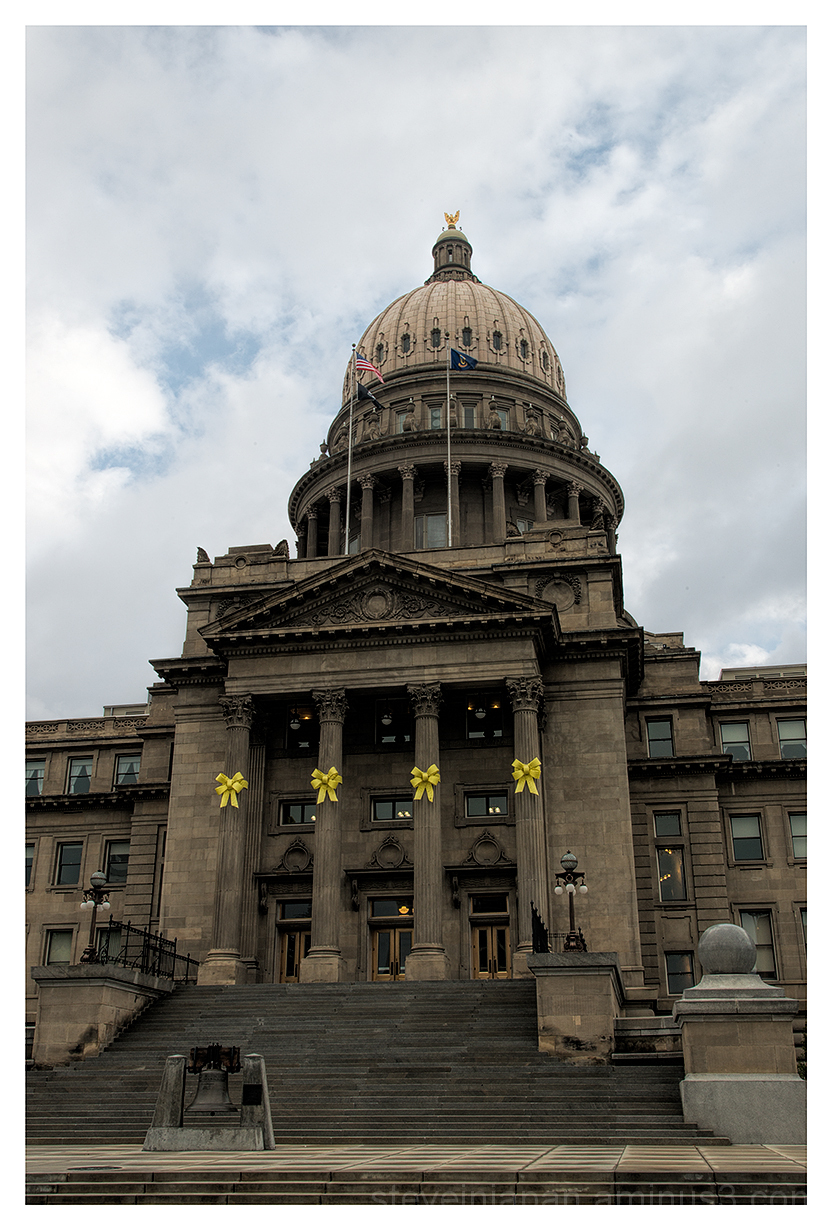 The Idaho State Capitol in Boise, Idaho.