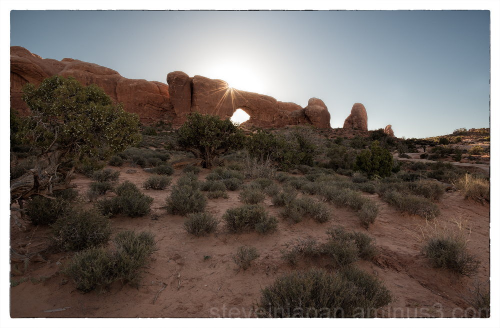 The Windows Section in Arches National Park.