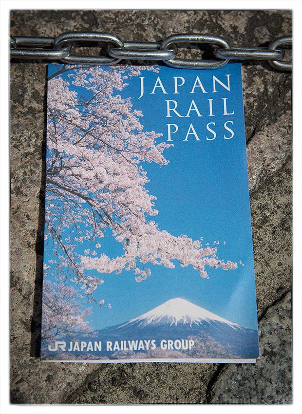 The Japan Rail Pass is wonderful.