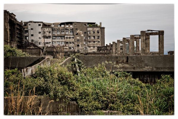 The fascinating Gunkanjima (Battleship Island).