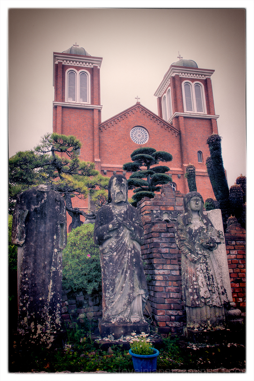 Urakami Cathedral in Nagasaki, Japan.