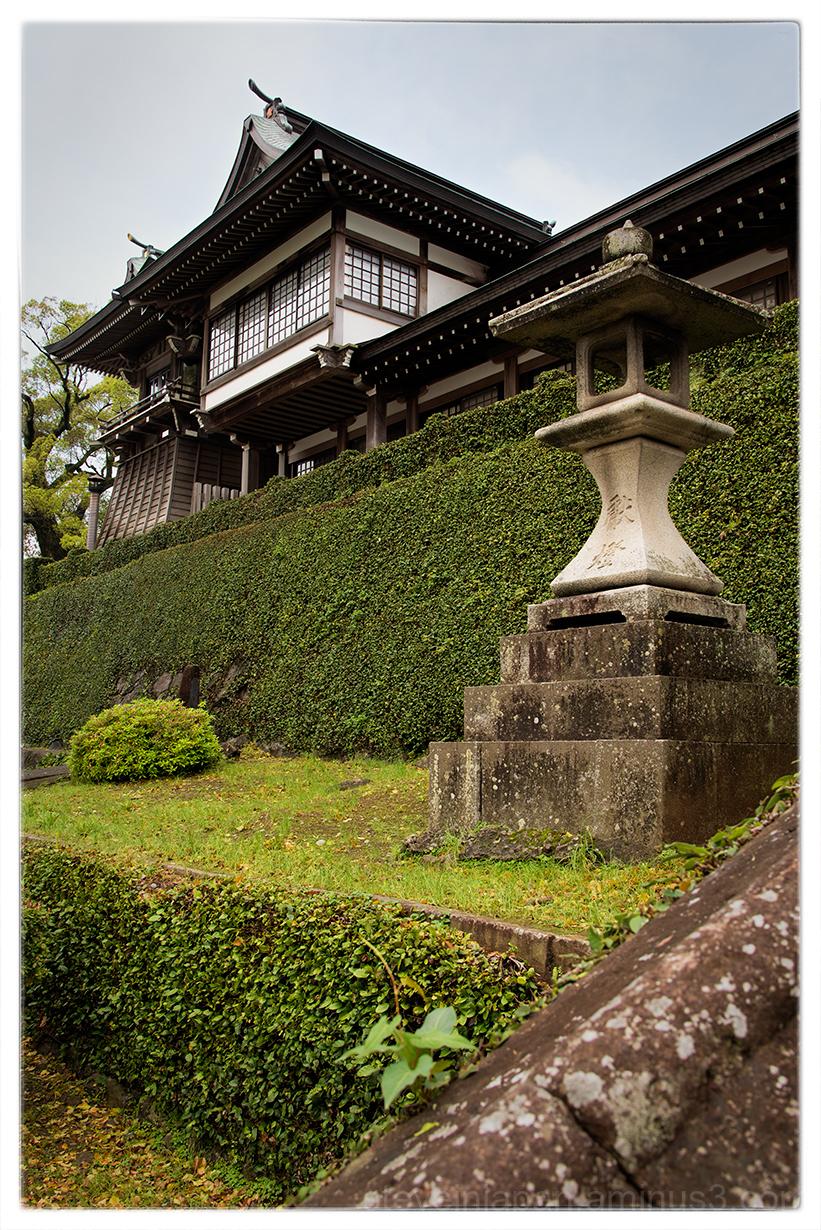 Suwa Shrine in Nagasaki, Japan.