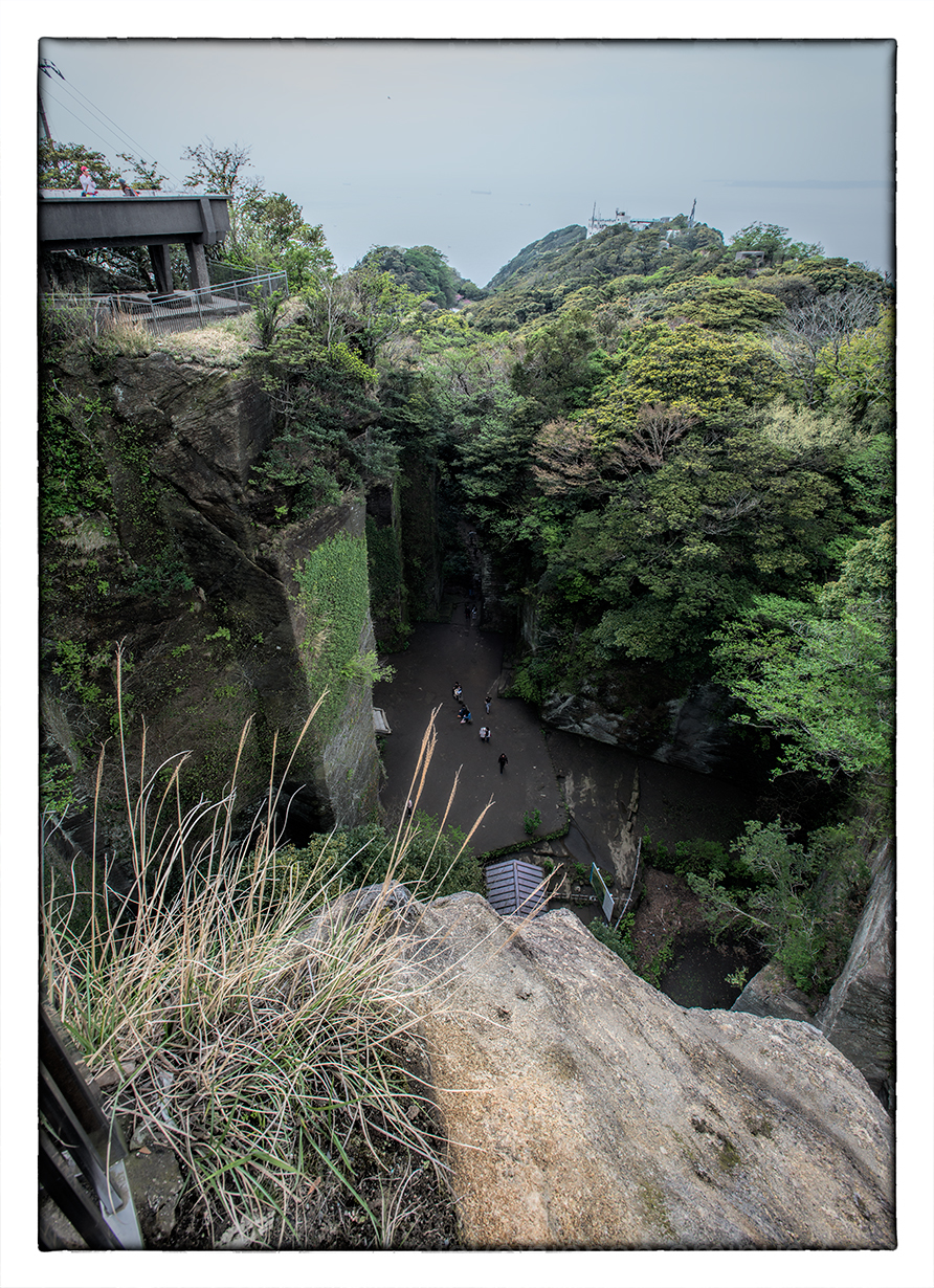 An outing to Nokogiriyama in Chiba Prefecture.