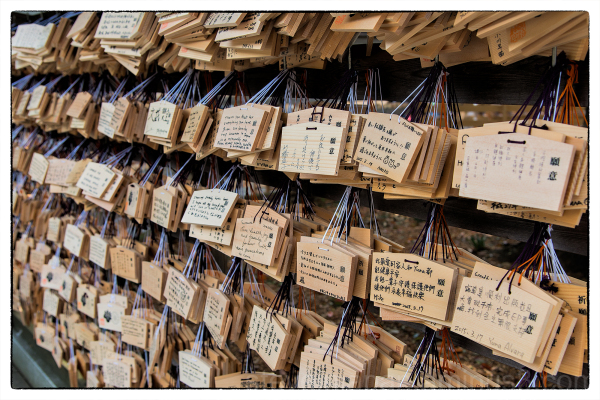 The Meiji Shrine in Tokyo, Japan.