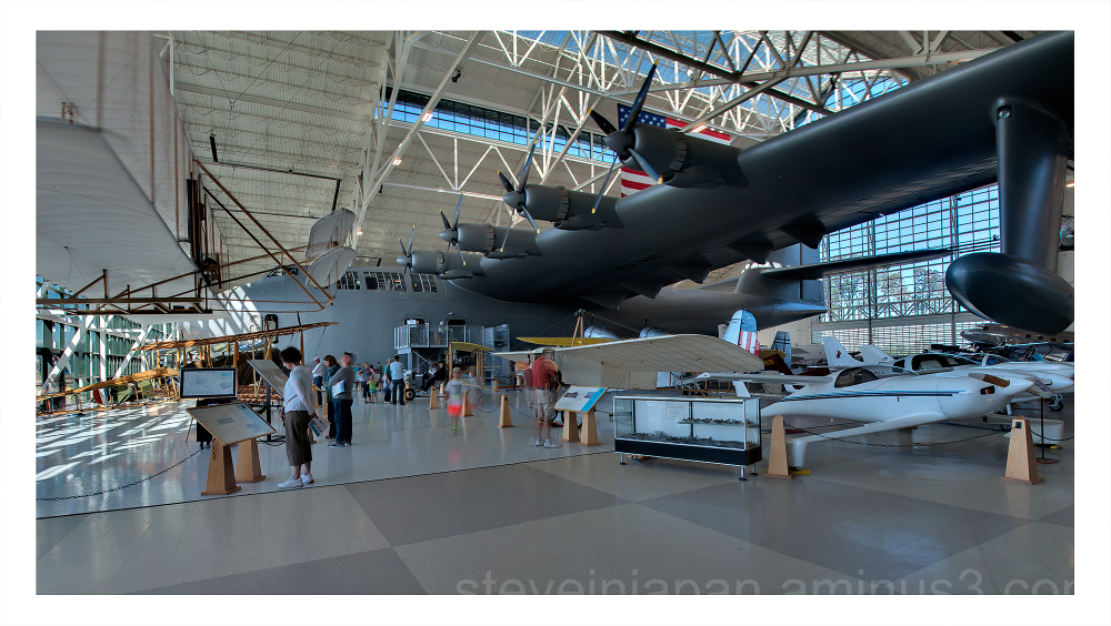 A view of the Spruce Goose.