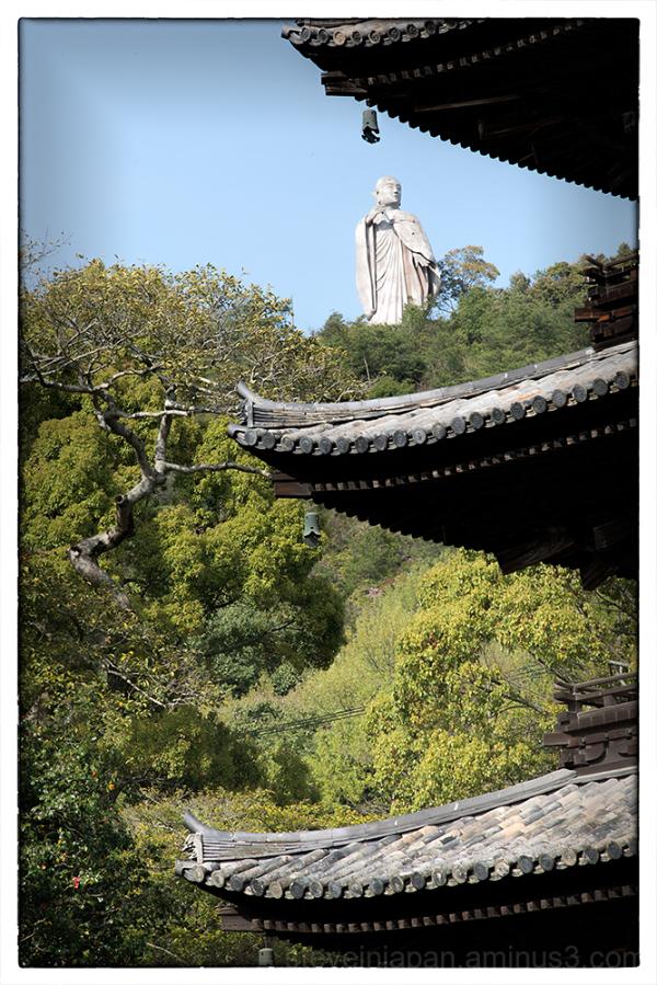 The Statue of Kobo Daishi