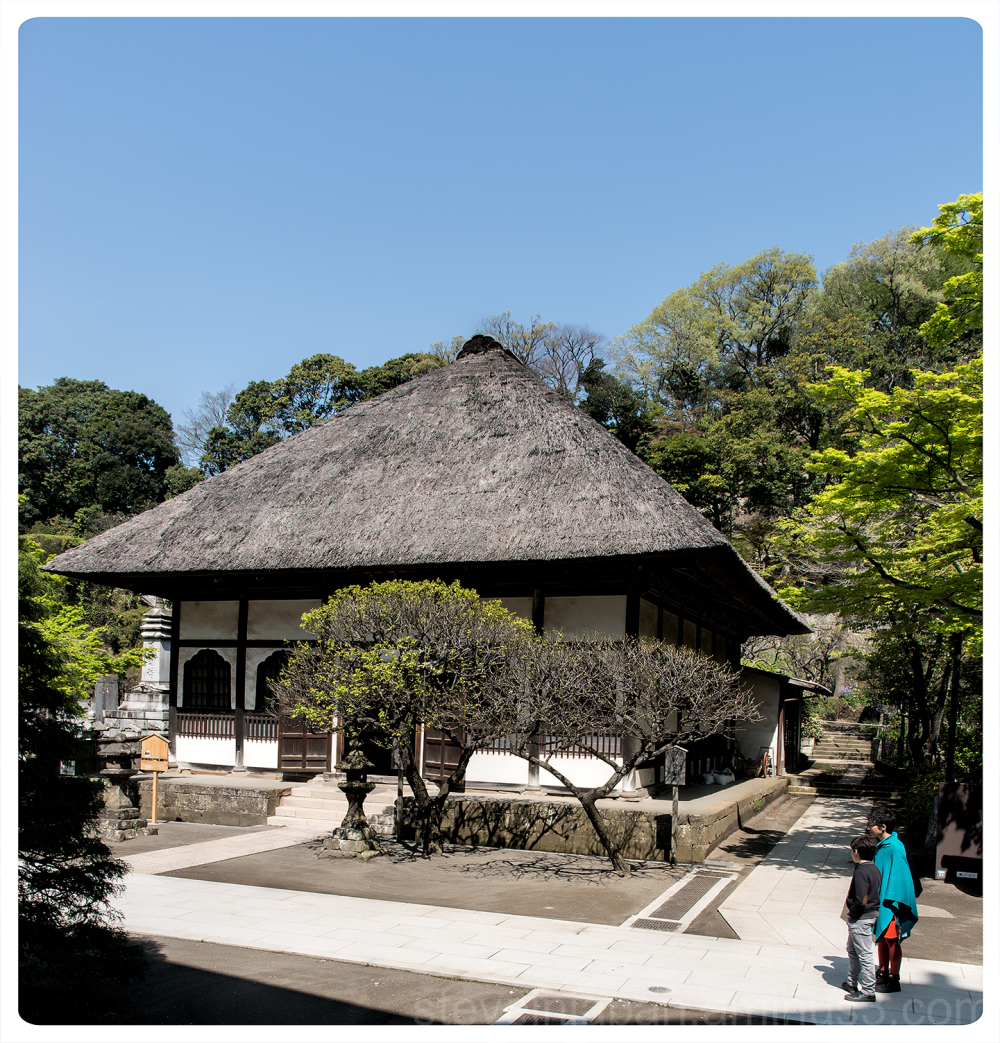 Engaku-ji, a Zen temple, in Kamakura, Japan.