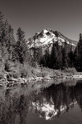 Mount Hood from Mirror Lake