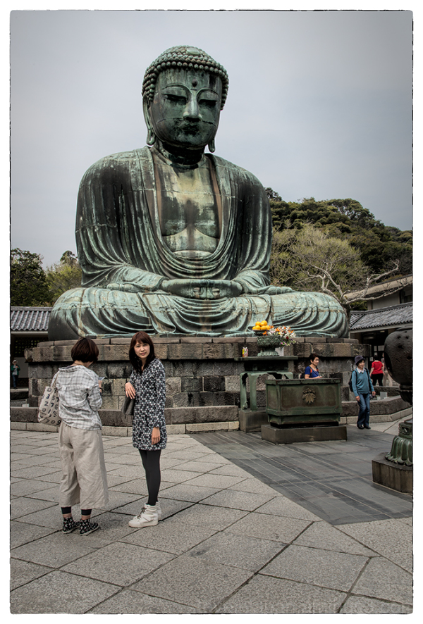 The Great Buddha of Kamakura.
