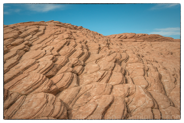 Petrified Dunes in Snow Canyon State Park, Utah.