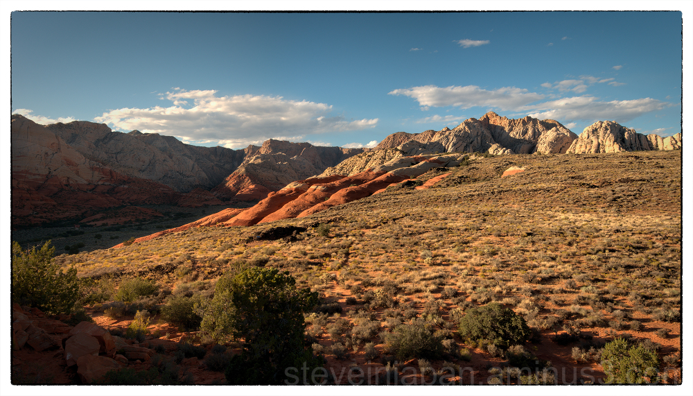 Lava Flow Trail in Snow Canyon State Park, Utah.