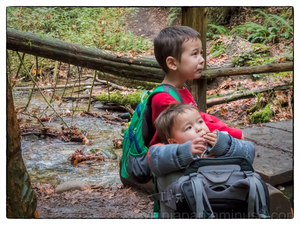 Anders and Alex at Coal Creek Falls.
