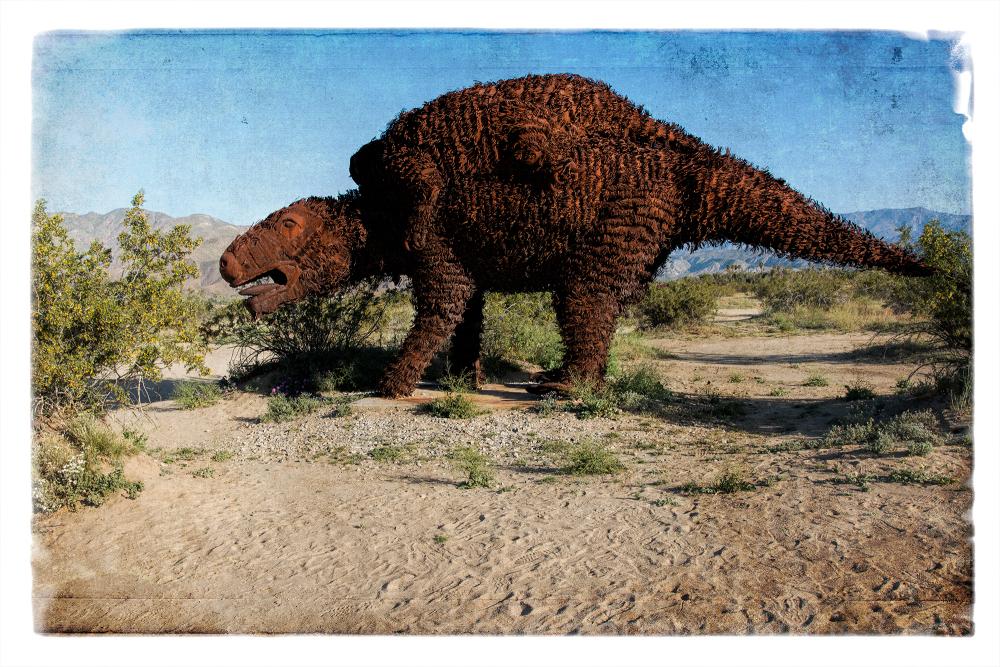 Art by Ricardo Breceda in Borrego Springs, CA.