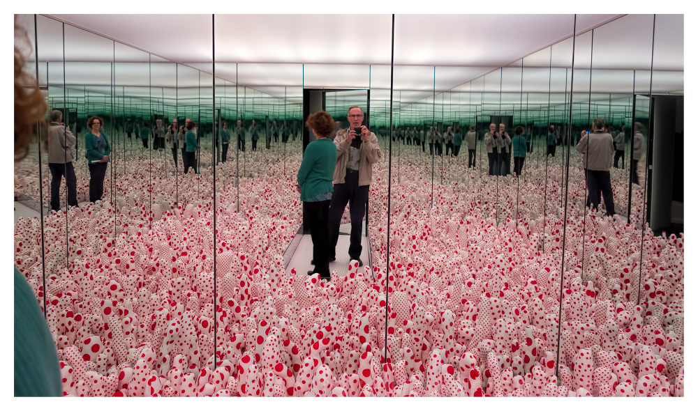 Infinity Mirrors by Yayoi Kusama.