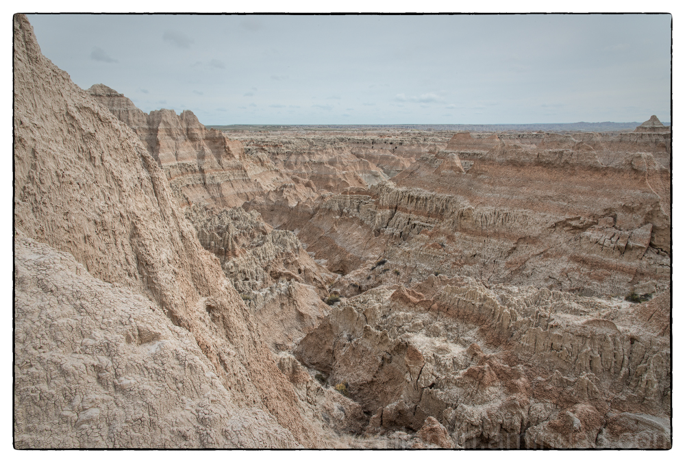 Badlands National Park in South Dakota, USA.