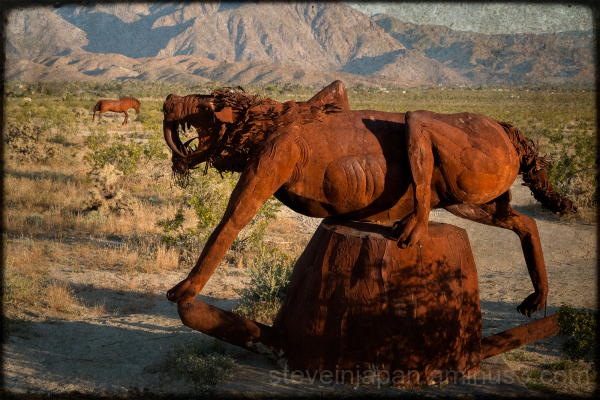Art by Ricardo Breceda in Borrego Springs, CA.