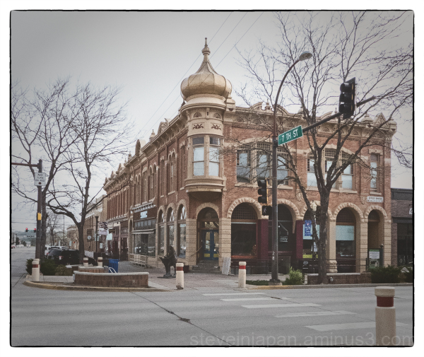 Street shots from Rapid City, South Dakota.