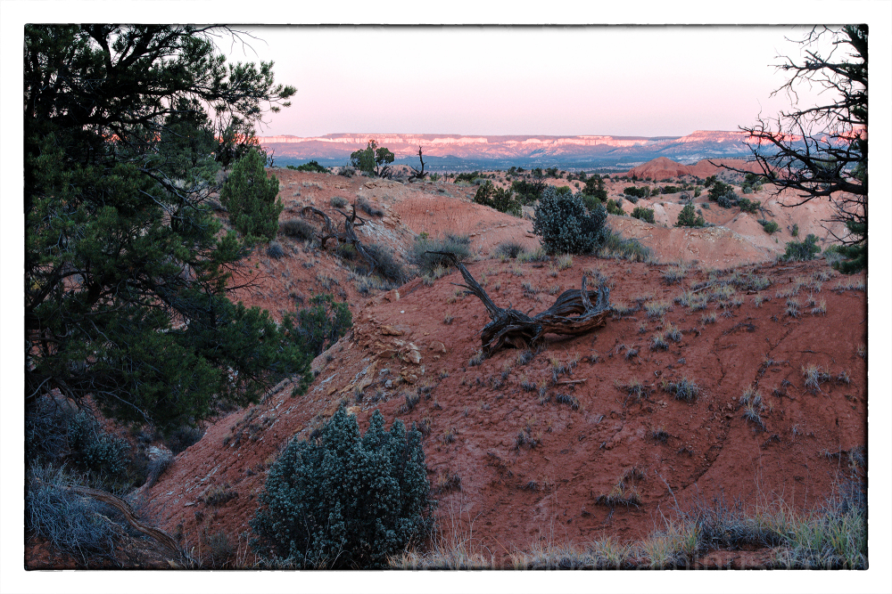 Sunrise at Kodachrome Basin State Park in Utah.
