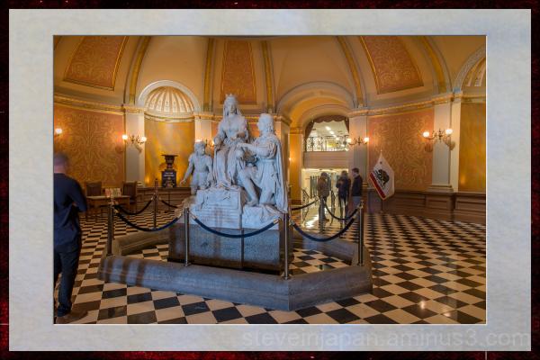 The Capitol in Sacramento, California.