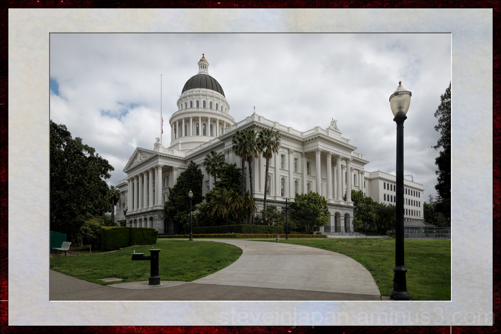 The Capitol in Sacramento, California.