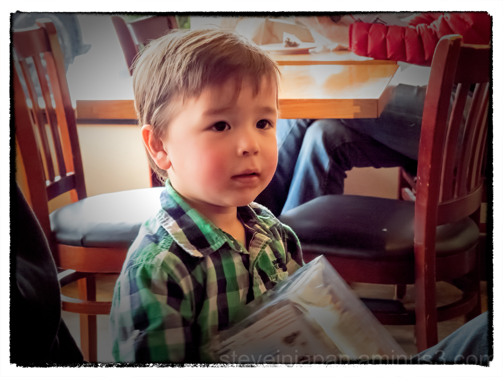 Anders is three years old.