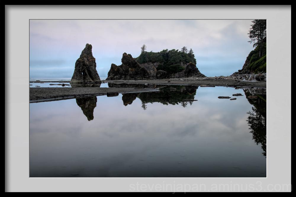 Ruby Beach on the coast in Washington state.