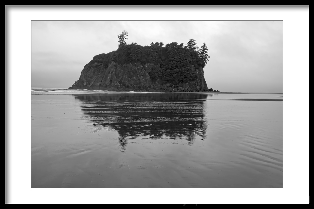 Ruby Beach on the coast in Washington state.