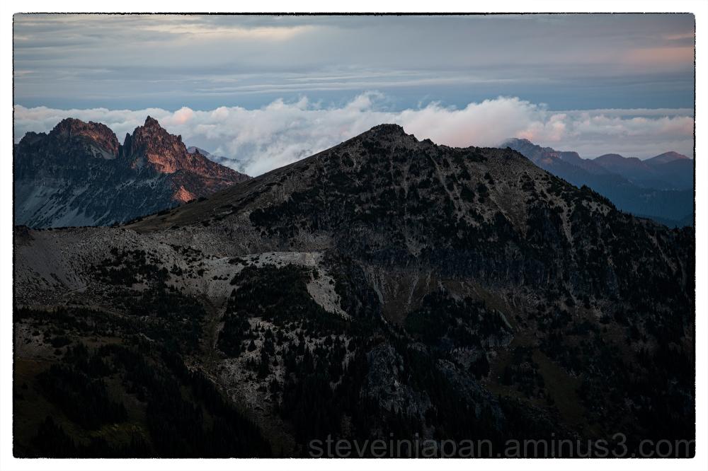 Sunrise from Sunrise on Mt. Rainier.