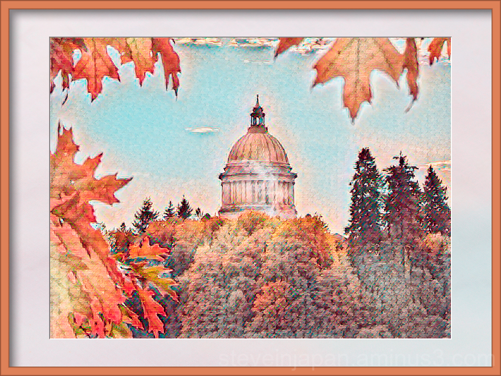 Capitol in Olympia, Washington.