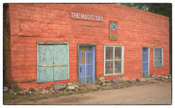 A business for sale in Taos, New Mexico.