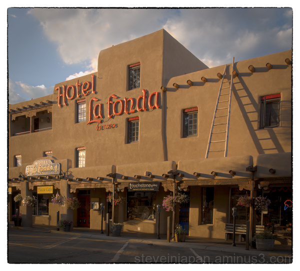 The Hotel La Fonda in Taos, New Mexico.