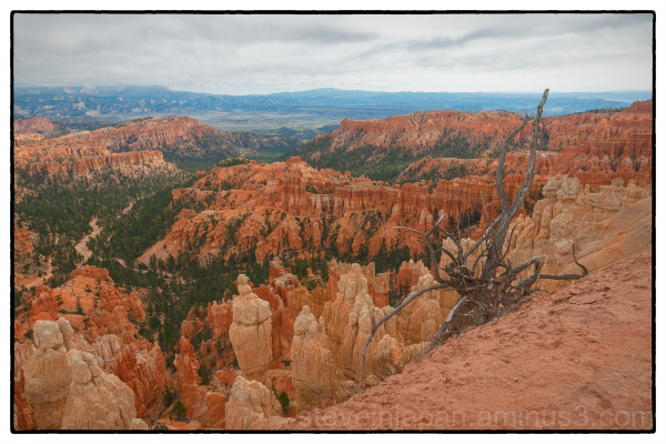Inspiration Point at Bryce Canyon National Park.