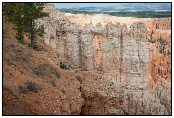 Hoodoos at Bryce Canyon National Park.