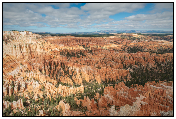 Bryce Point at Bryce Canyon National Park.