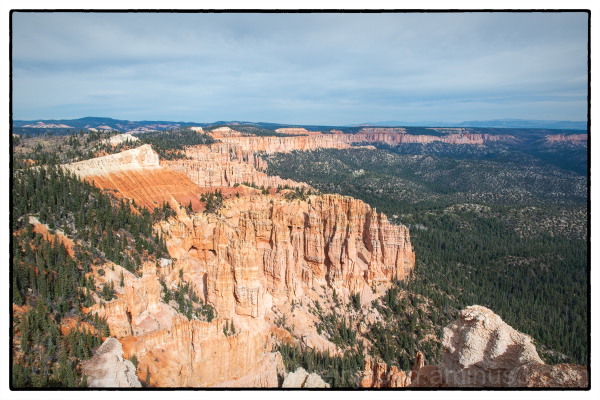 Rainbow Pointl at Bryce Canyon National Park.