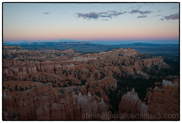 Sunset Point at Bryce Canyon National Park.