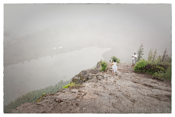 The view from Rattlesnake Ledge.