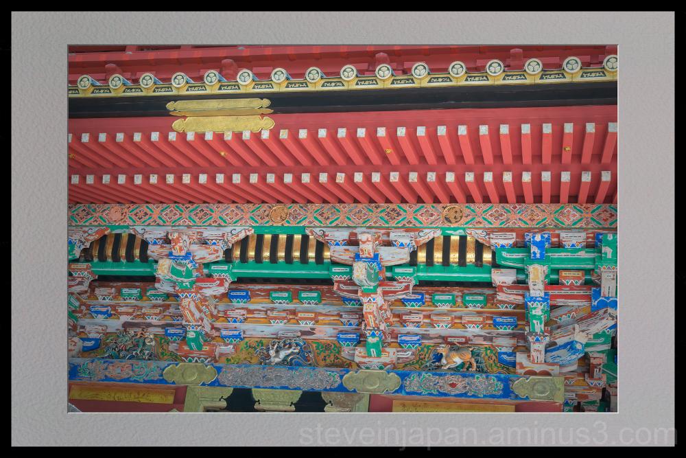 Toshogu Shrine in Nikko, Japan.