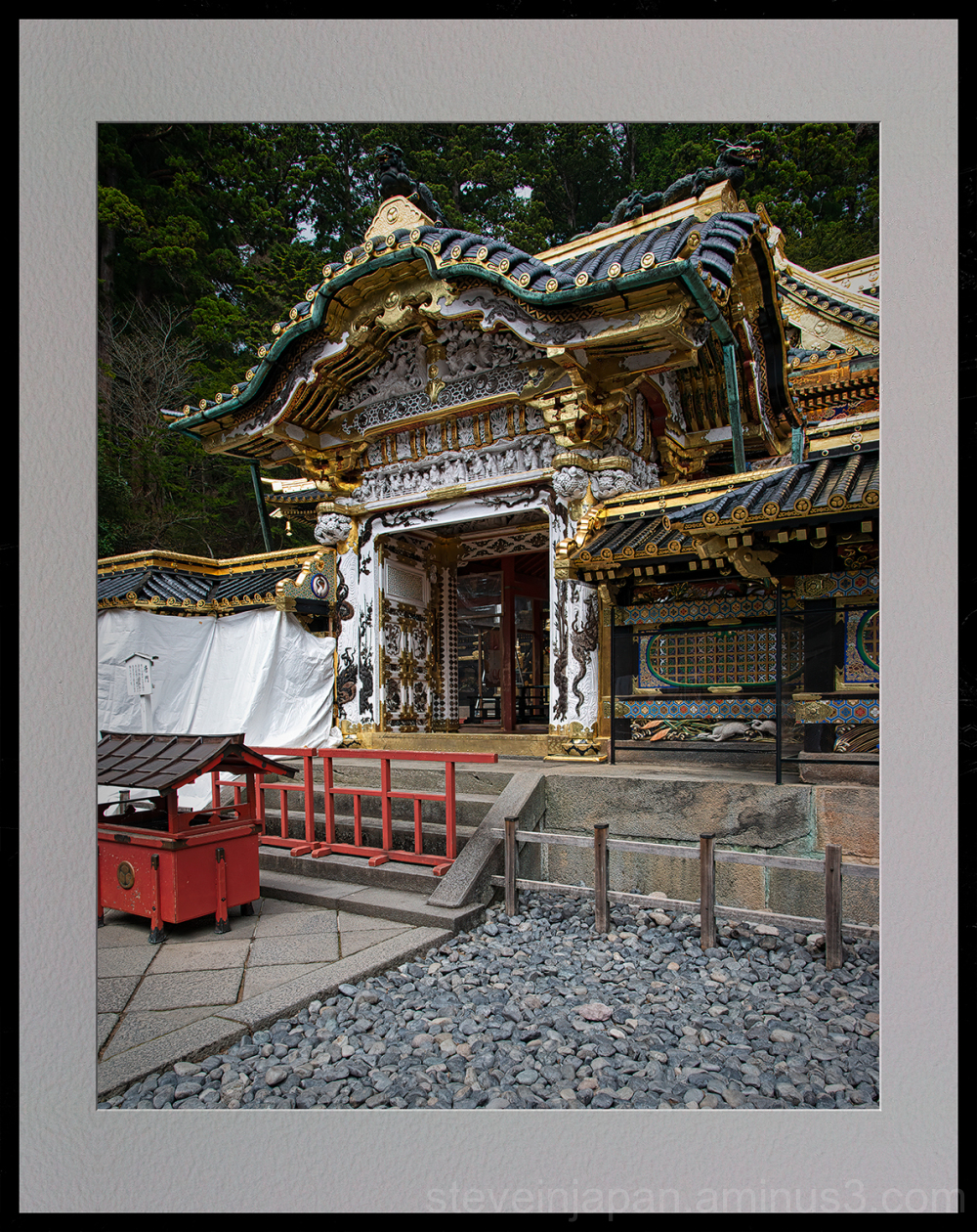 Toshogu Shrine in Nikko, Japan.