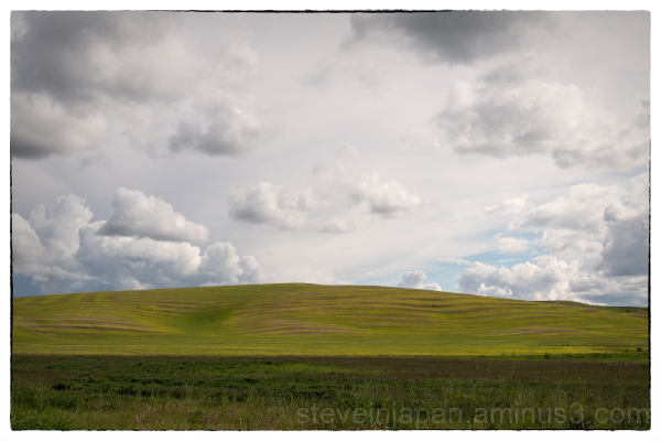Clouds Over the Palouse