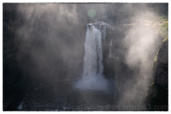 Palouse Falls in the Palouse.