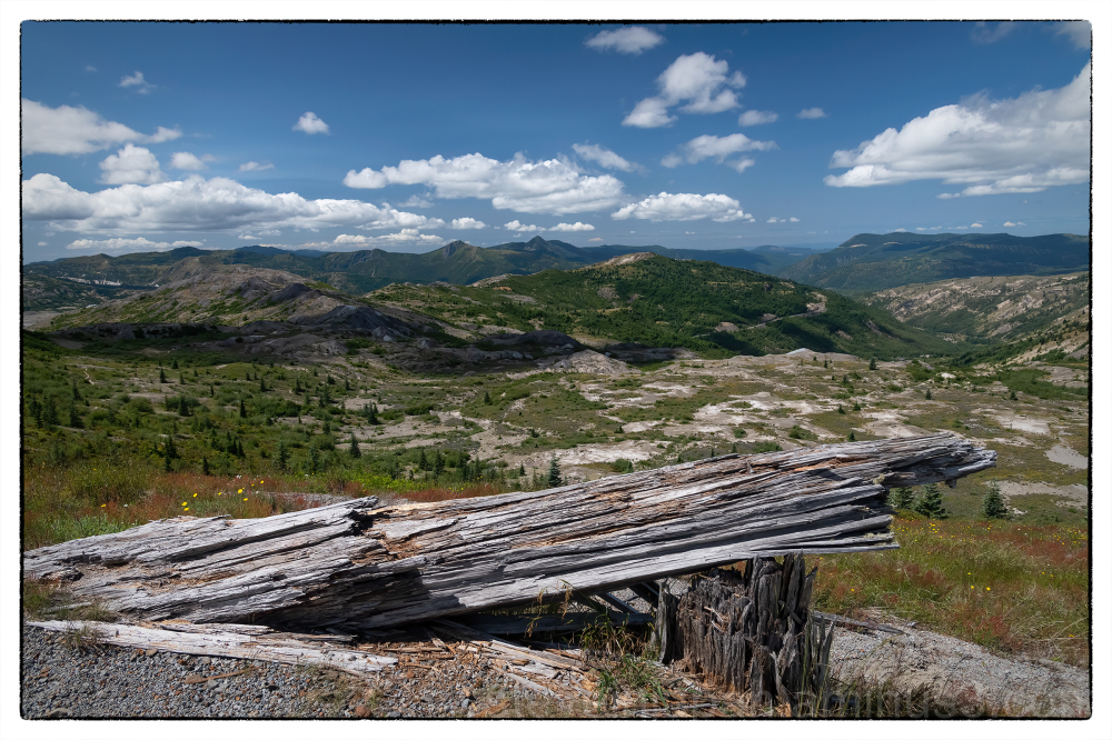 Johnston Ridge at Mount Saint Helens.